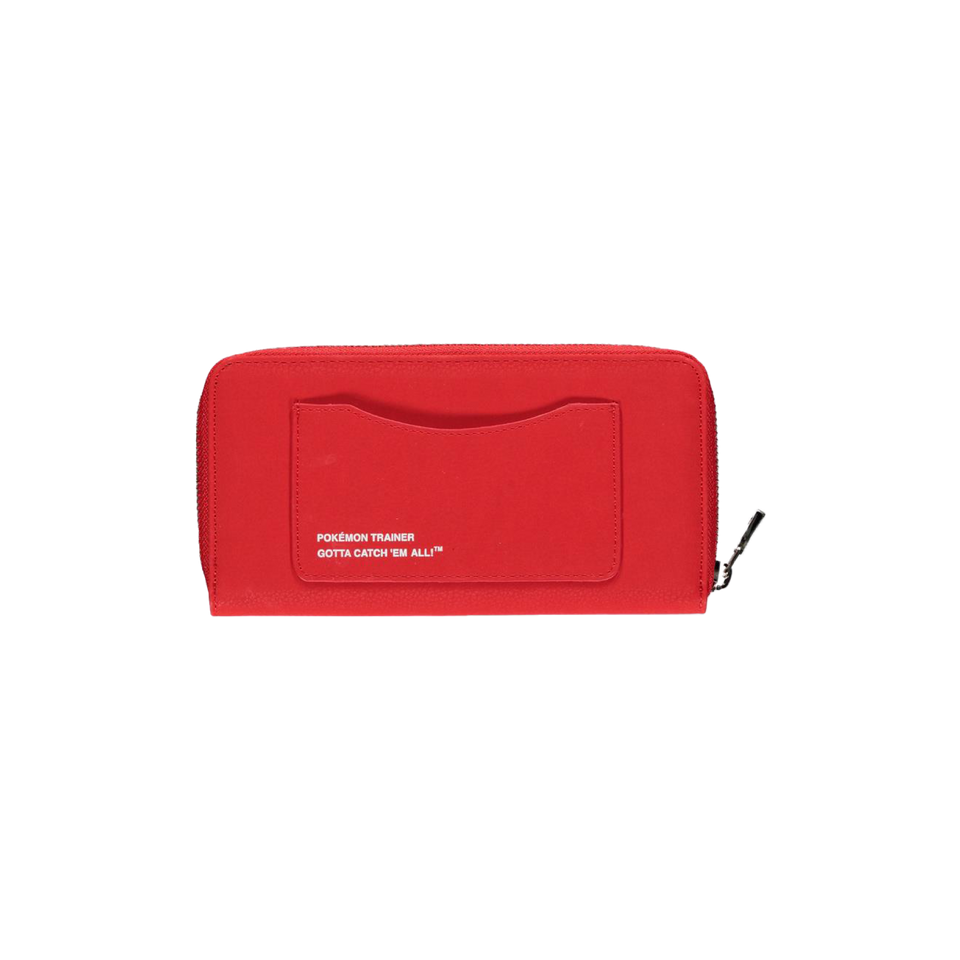 Pokémon Trainer TECH Zip Around Wallet back