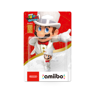 Amiibo Super Mario Wed Mario