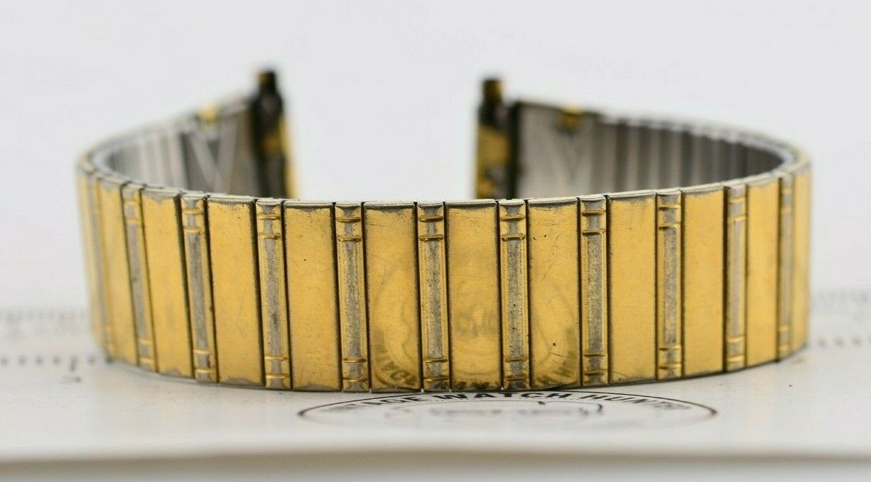 I201 18mm Vintage Speidel Watch Band Bracelet Stainless Steel JDM Japan 110.1