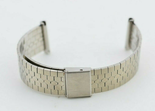 I580 22mm Vintage Beverly Watch Bracelet Stainless Steel Made in Italy 131.1