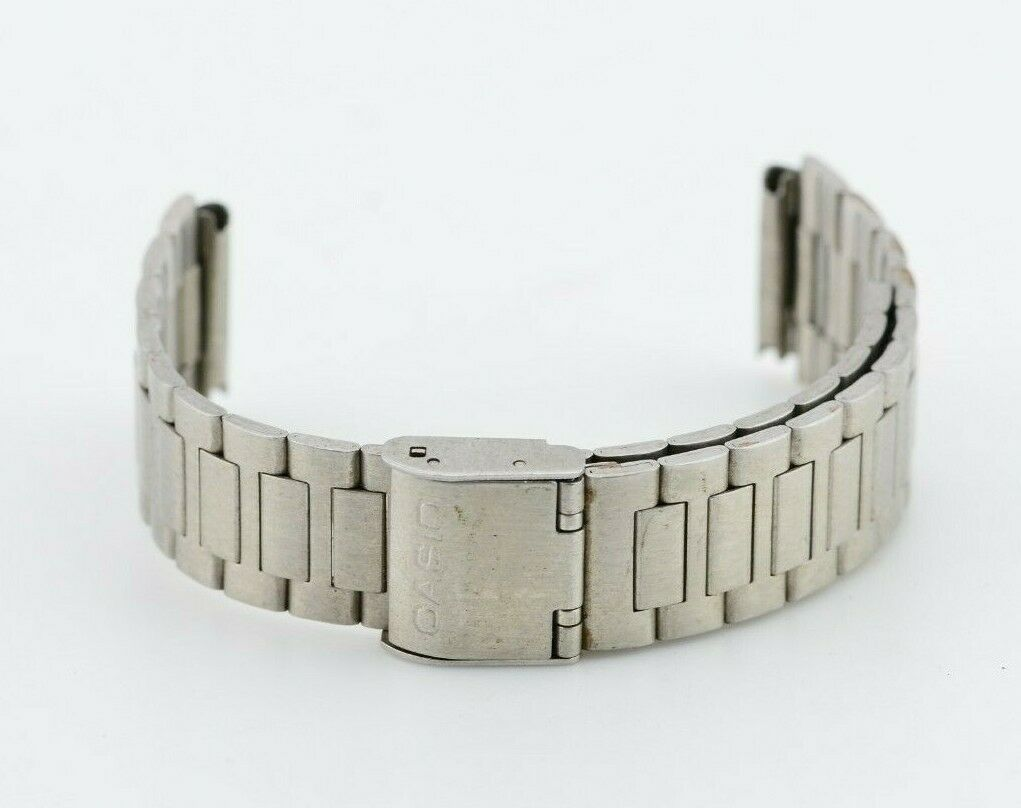 18mm Vintage Casio Watch Bracelet Stainless B-366A Steel JDM Japan E809/14.4