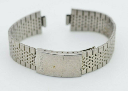 G433 8mm Vintage Citizen Watch Bracelet Stainless Steel 20784 JDM Japan 101.2