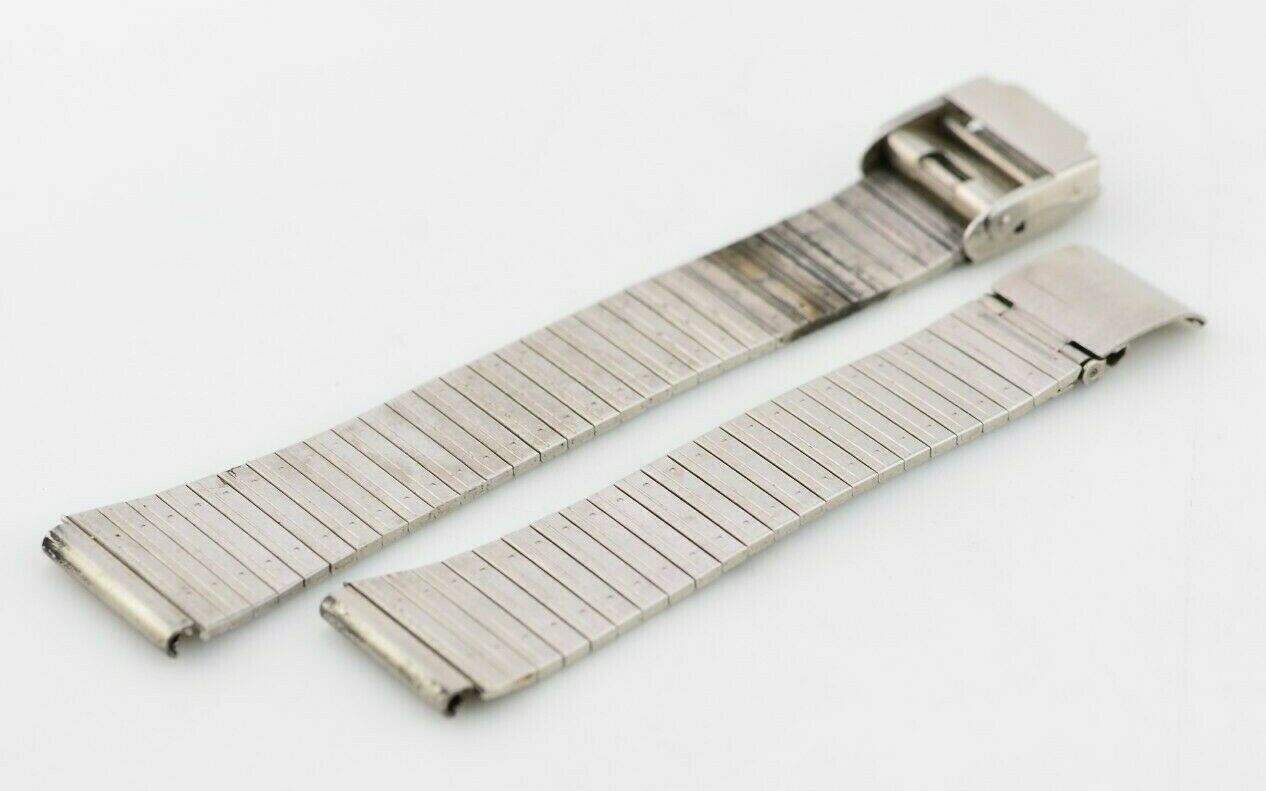 A271 18mm Vintage Maruman Watch Bracelet Stainless Steel Original JDM 146.1