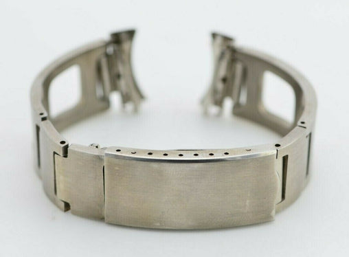 I578 19mm Vintage Calendar Watch Bracelet Stainless Made in Japan JDM 131.1
