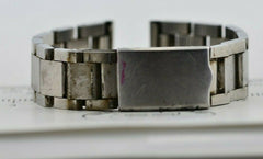 I500 18mm Vintage 1970s F.Dog Watch Band Bracelet Stainless Steel JDM 105.2