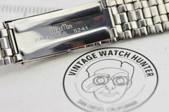 I587 18mm Vintage Citizen Watch Bracelet Stainless Steel JDM Japan NOS 131.1