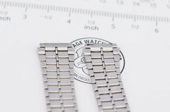A347 18mm Vintage Casio S-291A Watch Band Bracelet Stainless Steel 45.4