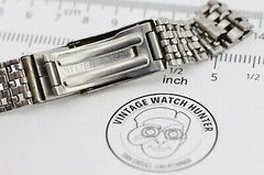 G425 12mm Vintage Citizen Watch Bracelet Stainless Steel Original JDM Japan 29.2