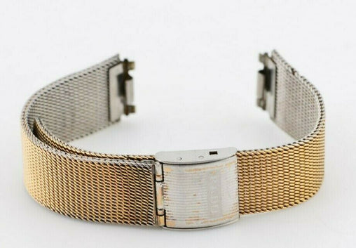 F283 16mm Vintage 1970s Rado Swiss Watch Bracelet Stainless Steel 13.4