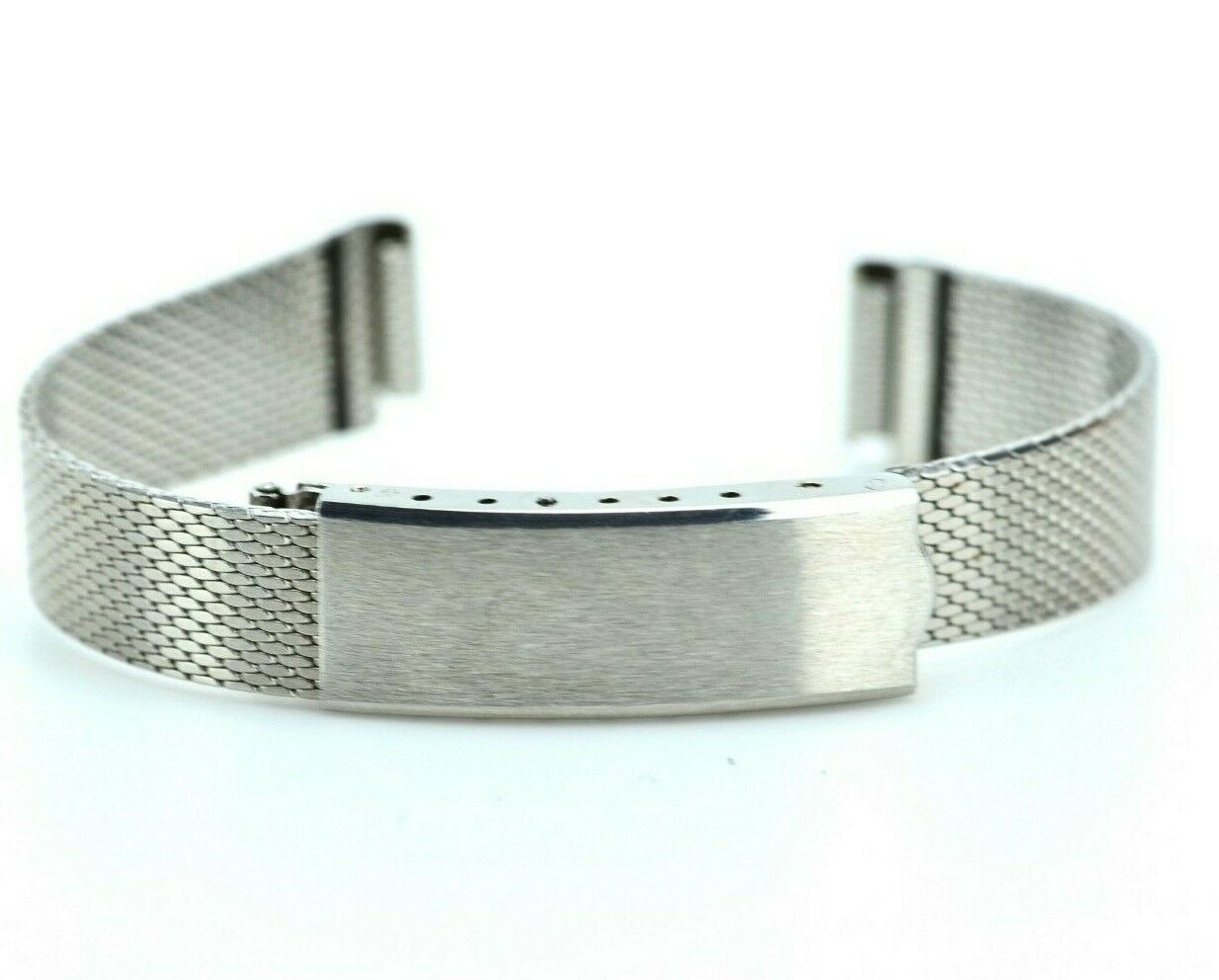 C723 10mm Bambi Ladies Watch Band Bracelet Stainless Steel Link Vintage 13.4