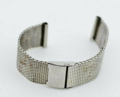 H438 18mm Vintage Maruman Watch Bracelet Stainless Steel JDM Japan 102.2