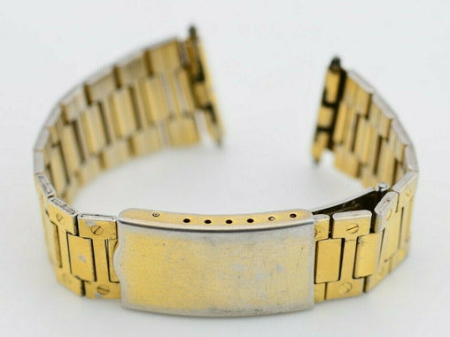 18mm Vintage Maruman Watch Bracelet Stainless Steel Original JDM E486/114.3
