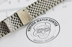 G344 18mm Vintage Seiko Watch Bracelet Stainless Steel JDM Japan XBA810J 29.4