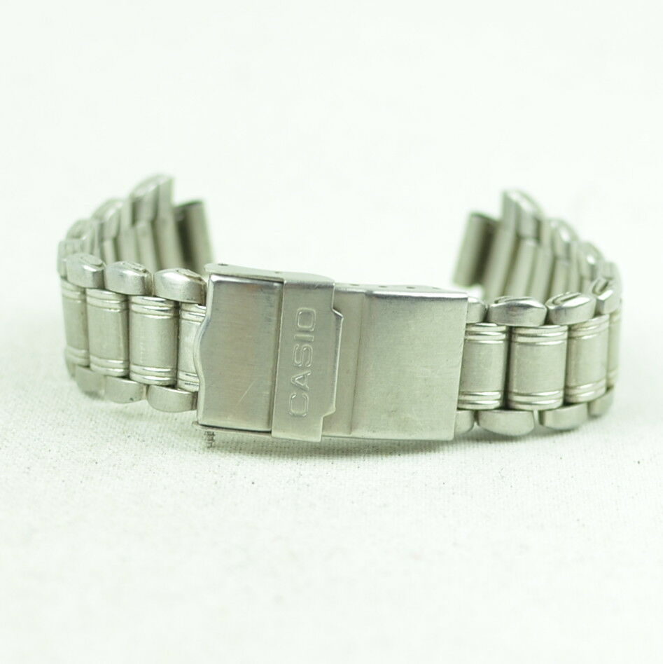 A286 Vintage Mens Casio Stainless Steel Watch Band Bracelet 19mm 21.2