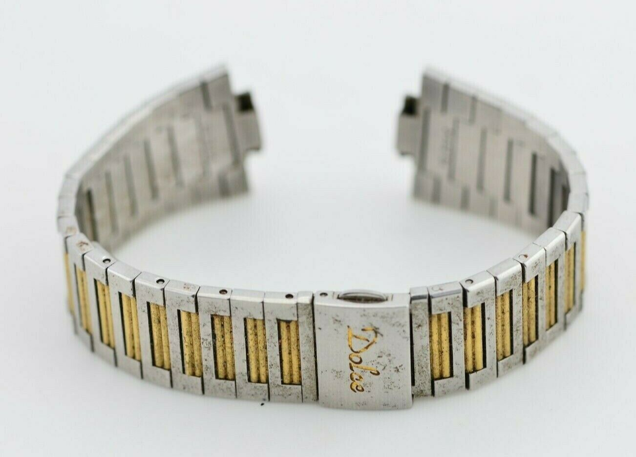 H505 10mm Vintage Seiko Dolce Watch Bracelet Stainless Steel JDM Japan 77.1