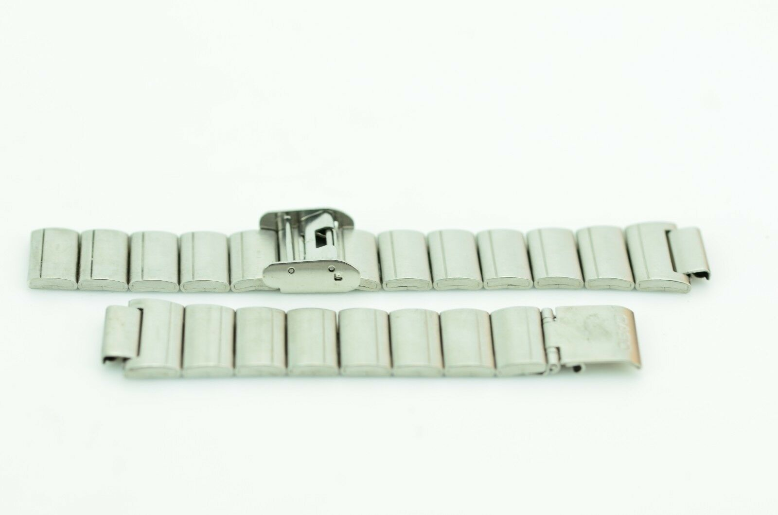 B323 14mm Casio Watch Band Steel Bracelet Replacement S-1271N Vintage JDM 69.3