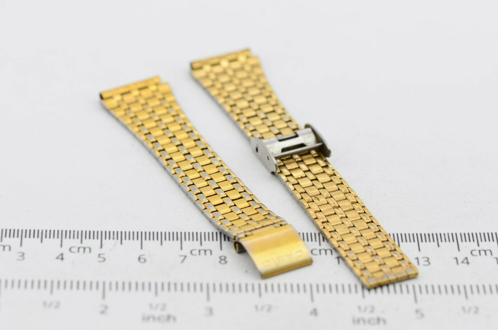 I552 18mm Vintage Casio Watch Band Bracelet Stainless Steel S-315L JDM 57.4