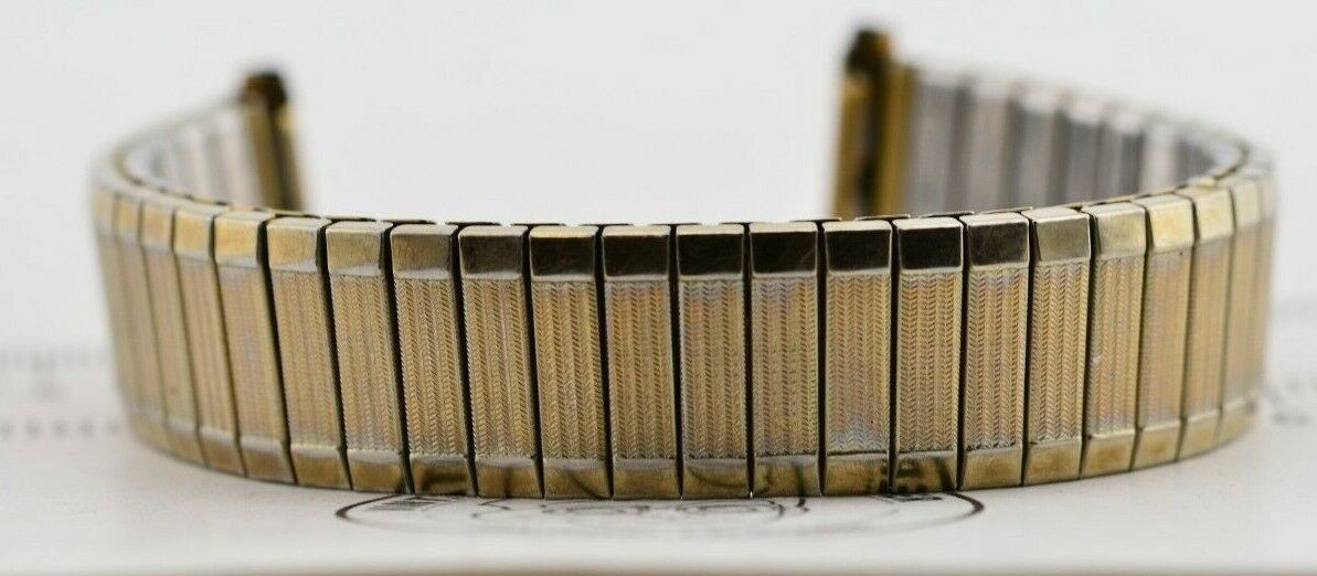I200 16mm Vintage Speidel Watch Band Bracelet Stainless Steel Japan JDM 118.1