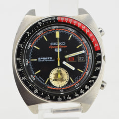 1970 Eearly Seiko Speedtimer Pogue Coke Bezel JDM Chronograph 6139A-6030