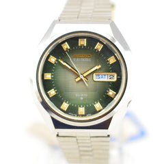 1972 Seiko EL-370 Electronic Green Dial NOS JDM 3703-8070 Needs Repair