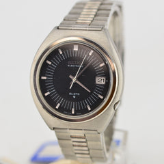 1971 Seiko EL-370 Electronic Grey Dial NOS Watch 3702-8000 Needs Repair