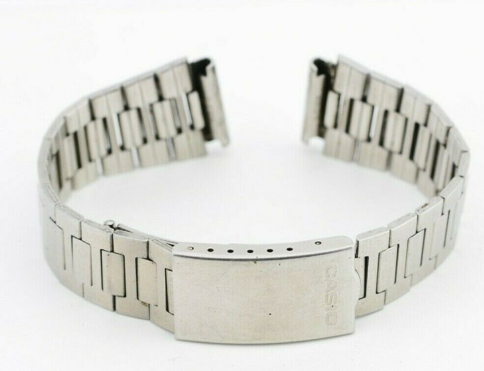 G621 19mm Vintage Casio Watch Bracelet Stainless Steel JDM B812 Mod.58 34.3