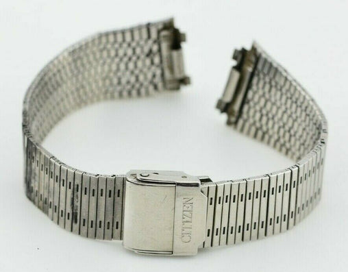 F691 18mm Vintage Citizen Watch Bracelet Stainless Steel 41-8498 JDM Japan 98.3
