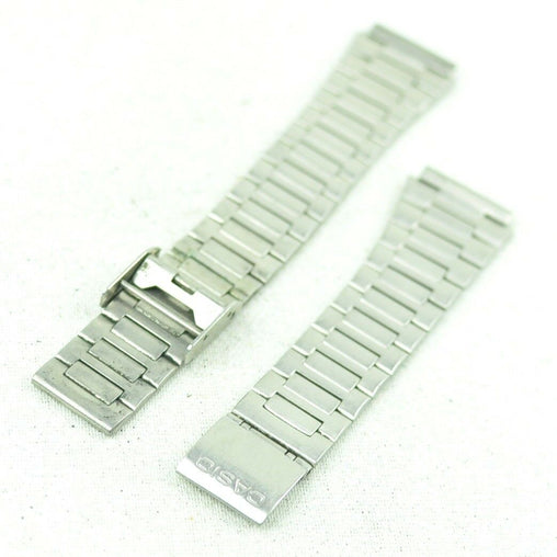 A329 Vintage Mens Casio Bracelet Digital Stainless Steel Watch Band 18mm 45.1