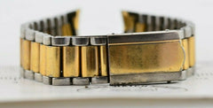 I558 18mm 1960s Vintage Seiko Watch Gold Bracelet Stainless Japan JDM 117.3