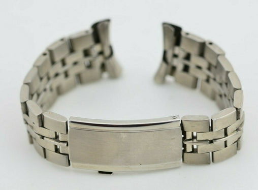 I594 19mm Vintage Maruman Watch Bracelet Stainless Steel JDM Japan 131.1