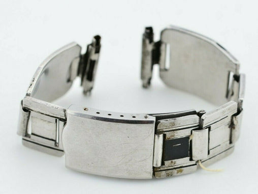 H095 17mm Vintage Bambi Watch Bracelet Stainless Steel Authentic JDM Japan 17.4