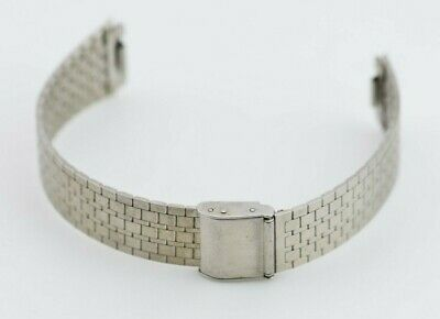 G431 18mm Vintage Citizen Watch Bracelet Stainless Steel Band JDM 2339 29.1
