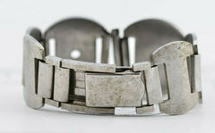 I446 19mm Vintage Geneva Watch Band Bracelet Stainless Steel 49.1