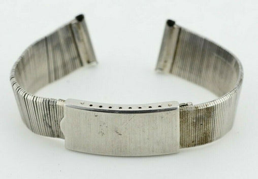 18mm Vintage 1970s Hi-Grade Watch Bracelet Stainless Steel F408/98.3