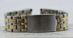 I524 17MM Vintage Bambi Watch Band Bracelet Stainless Steel JDM Japan 41.2