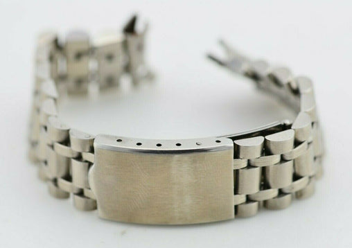 I585 18mm Vintage Bambi Watch Bracelet Stainless Steel Original JDM In Box 131.1