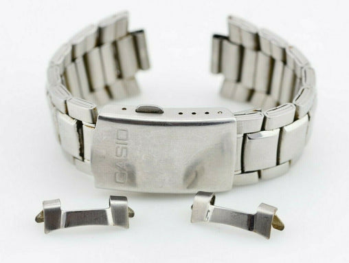 D221 19mm Vintage Casio Watch Bracelet Stainless Steel MTD-1046 JDM Japan 113.2
