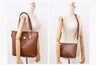 Luxurious Designer Leather Handbag Set with Shoulder Bag and Purses | 5 Pcs