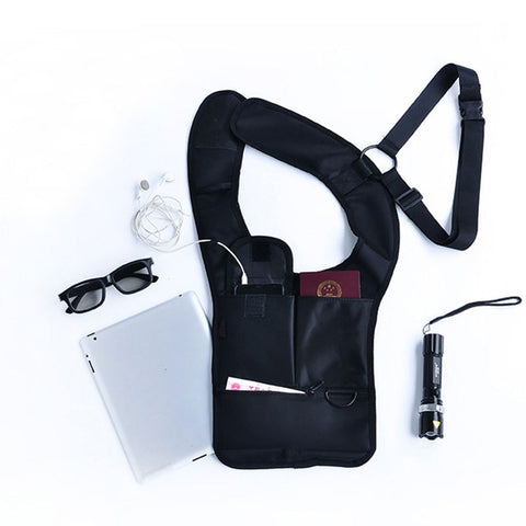 Anti-Theft Safety Hidden Underarm Holster Shoulder Bag For Travel Purposes - BiggShopp.com