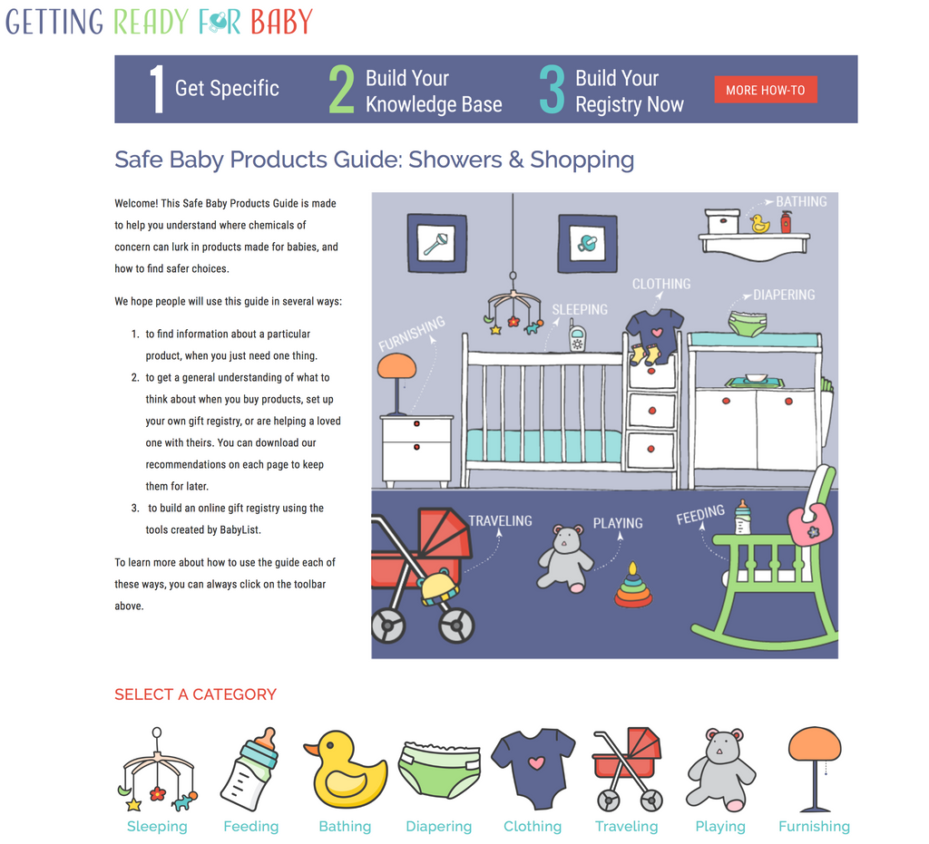 Bioserie featured in Getting Ready For Baby's guide