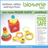 Bioserie first toy company certified with MADE SAFE®...