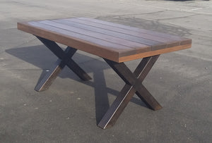 Caesar cross leg table