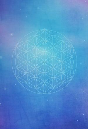 "Flower of Life <br><span class=""free-promo"">Yoga Travel Mat + Free Yoga Bag</span>"