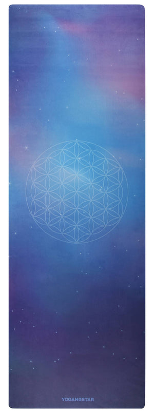 "Flower of Life <br><span class=""free-promo"">Yoga Mat + Free Yoga Bag</span>"