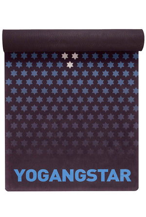 "White Blue Star <br><span class=""free-promo"">Yoga Mat + Free Yoga Bag</span>"
