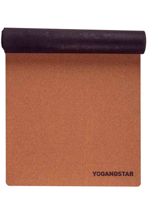 cork top yoga mat