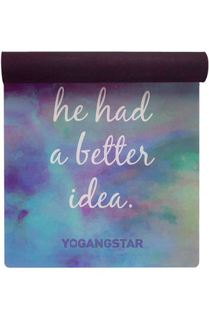 "Better Idea <br><span class=""free-promo"">Yoga Mat + Free Yoga Bag</span>"