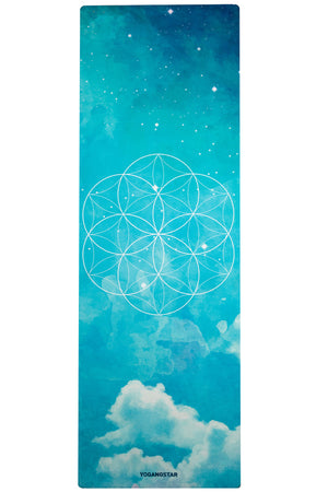Seed of Life Yoga Mat