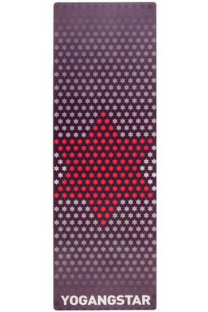 "Red White Star <br><span class=""free-promo"">Yoga Mat + Free Yoga Bag</span>"