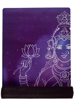 "Space Goddess <br><span class=""free-promo"">Yoga Mat + Free Yoga Bag</span>"